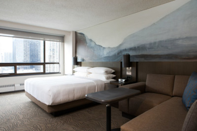 Our redesigned guest rooms featuring luxurious bedding, comfortable furnishings and thoughtful touches that ...