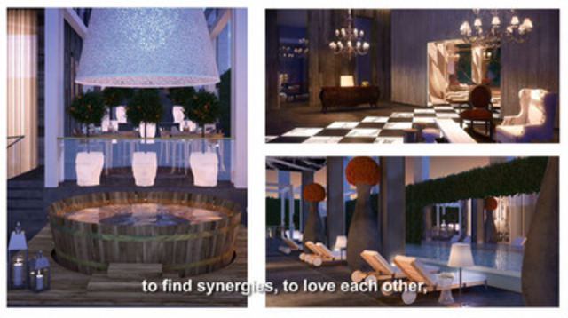 YOO Montreal's residential project presented by Philippe Starck.