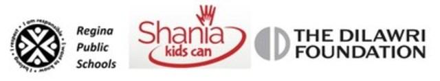 Regina Public Schools, Shania Kids Can, The Dilawri Foundation (CNW Group/The Dilawri Foundation)