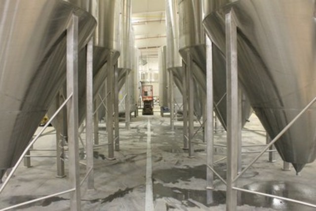 Collective Arts & Nickel Brook open their brewery doors Nov. 14 (CNW Group/Collective Arts Brewing Ltd.)