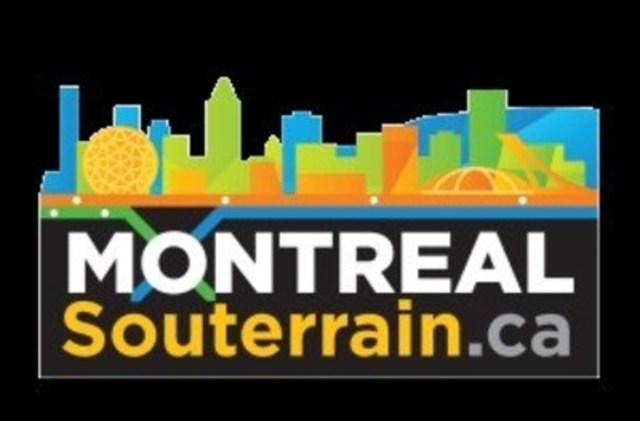Logo: Montréal Souterrain.ca (Groupe CNW/Montréal Souterrain.ca)