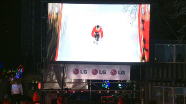 Video: LG paired its fiercest smartphone with Red Bull Crashed Ice in Niagara Falls