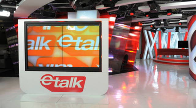 The Baanto-designed ETALK Star Screen is a giant, interactive video wall that's changing the way Canada's highest-rated entertainment news show presents its nightly film festival coverage. Hosts can manipulate the action with the touch of a finger, putting the control room in front of the camera (CNW Group/Baanto)