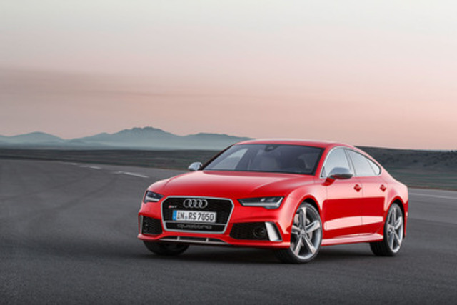 RS 7 Sportback (CNW Group/Audi Canada Inc.) ...