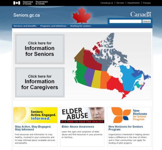 seniors.gc.ca (CNW Group/Employment and Social Development Canada)
