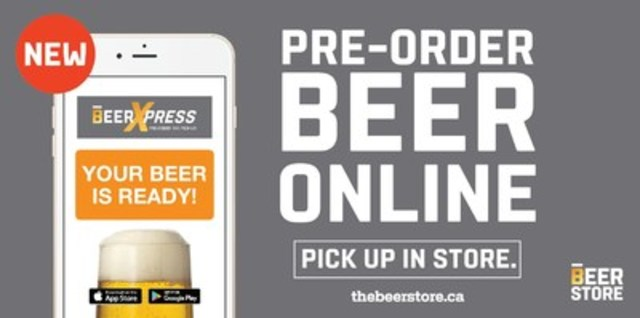 A faster way to get your beer (CNW Group/The Beer Store)
