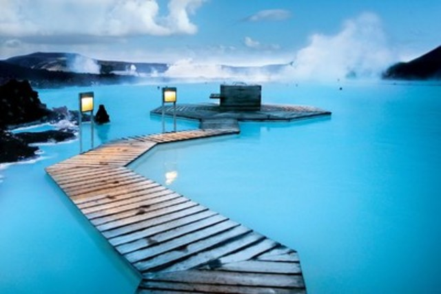 The Blue Lagoon in Iceland, located in a lava field in Grindavík on the Reykjanes Peninsula, was chosen as the number one travel bucket list destination among Canadians in a new survey conducted by Contiki entitled 'The No Regrets List'. (CNW Group/The Travel Corporation)