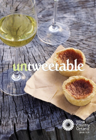 Wine Country Ontario 'untweetable' Campaign - Butter Tarts with Wine (CNW Group/Wine Council of Ontario) (CNW Group/Wine Country Ontario)