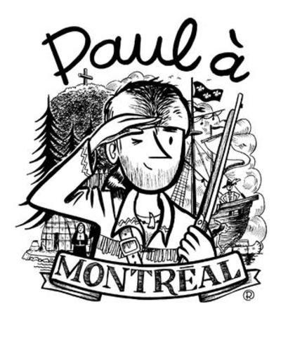 Paul à Montréal pour le 375e anniversaire de Montréal (Groupe CNW/Société du 375e)