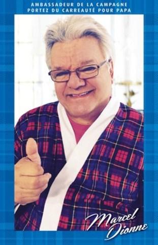 Marcel Dionne pose dans son meilleur carreauté comme ambassadeur national de la campagne #CarreautéPourPapa de Cancer de la prostate Canada. (Groupe CNW/Prostate Cancer Canada)