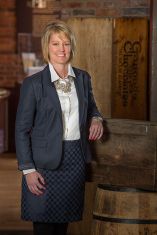 Bryana Ganong, the fifth generation of Ganong family to become President and Chief Executive Officer of Ganong Bros., Limited. Established in 1873, Ganong is Canada's oldest, family owned and operated candy company, manufacturing all its products in St. Stephen New Brunswick. (CNW Group/Ganong Bros., Limited)
