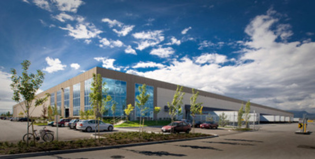 Richmond Portfolio:  Hopewell Distribution Centre (Building I), Richmond, BC (CNW Group/Pure Industrial Real Estate Trust (PIRET))