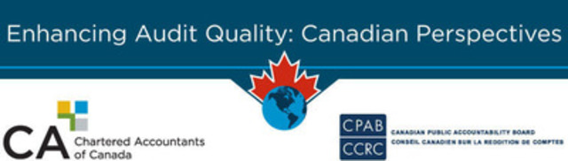 A third discussion paper has been issued as part of the Enhancing Audit Quality initiative launched by the Canadian Public Accountability Board and the Canadian Institute of Chartered Accountants. Perspectives gained through consultation will provide a clearer picture of Canadian stakeholder views on international audit reform proposals. (CNW Group/Canadian Institute of Chartered Accountants)