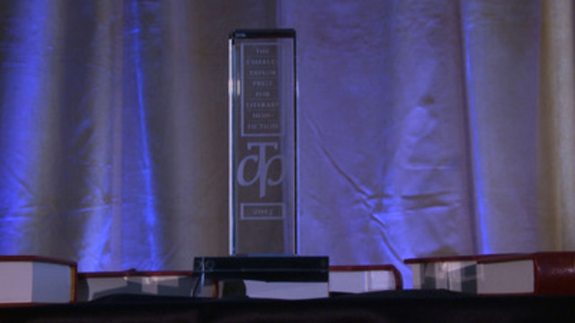 Video: Andrew Preston Wins the 2013 Charles Taylor Prize for Literary Non-Fiction, event at the King Edward hotel in Toronto