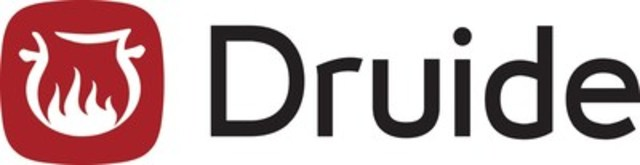 Logo : Druide (Groupe CNW/Druide informatique inc.)