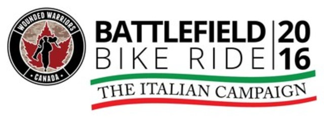 2016 Battlefield Bike Ride - The Italian Campaign (CNW Group/Wounded Warriors Canada)