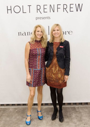 New York based Designer Nanette Lepore visits Holt Renfrew in Calgary for the first time to show her Fall and Holiday 2012 collections on September 20, 2012. (CNW Group/Holt Renfrew)/Holt Renfrew) (CNW Group/Holt Renfrew)