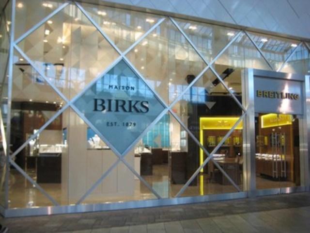 Birks a rafraîchi le concept de ses magasins. (Groupe CNW/Groupe Birks Inc.)