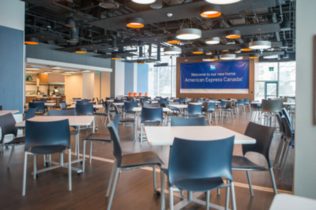American Express moves to new state-of-the-art facility in Toronto (CNW Group/American Express)