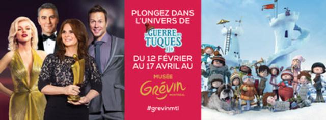 Grévin Montréal présente l'exposition La Guerre des Tuques 3D dès le 12 février 2016. (Groupe CNW/Musée Grévin Montréal)