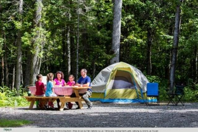 Parc National du Lac Témiscouta (Groupe CNW/Société des établissements de plein air du Québec)