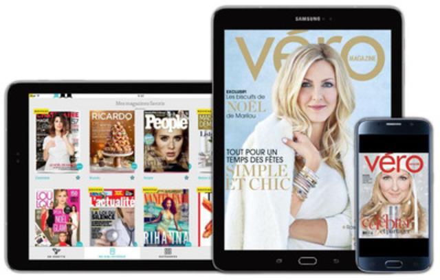 Le magazine féminin VÉRO s'ajoute au vaste catalogue de publications de Texture. Pour plus d'information, veuillez consulter texture.ca/fr. (Groupe CNW/Rogers Communications Inc. - Français)
