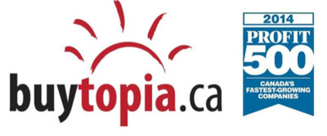 Since 2010, Buytopia has been offering the ultimate buying experience, to discover the best local services and products at 50-90% off. Buytopia features the best restaurants, spas, activities, events and hotels at a fraction of the price. For more information, visit www.buytopia.ca. (CNW Group/Buytopia)