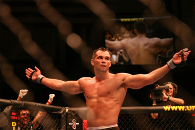 "UFC SUPERSTAR RICH ""ACE"" FRANKLIN appears at MMA WORLD ON MARCH 31ST 2012 (CNW Group/MMA WORLD ACADEMY)"