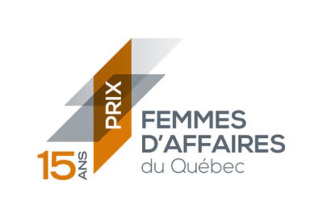 Logo: 15e gala Prix Femmes d'affaires du Québec (Groupe CNW/Réseau des Femmes d'affaires du Québec Inc.)