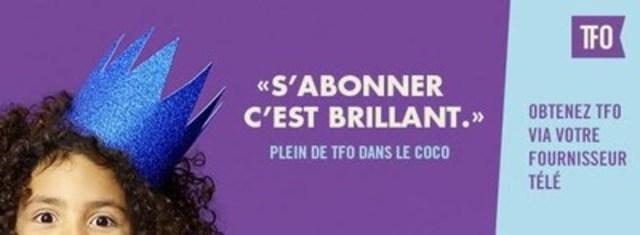 Plein de TFO dans le coco ! Pour en savoir plus sur la programmation de TFO : tfo.org/debrouillage. (Groupe CNW/Office des télécommunications éducatives de langue française de l'Ontario (OTÉLFO))
