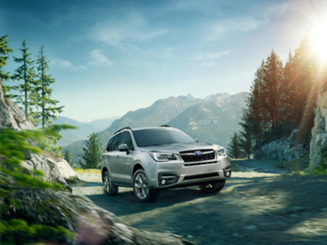 2017 Subaru Forester 2.5i (CNW Group/Subaru Canada Inc.)