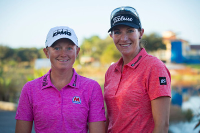 Manulife has signed golfer, Brittany Lang, to represent its brand through the 2016 LPGA Tour season. The company has also extended its sponsorship of LPGA golfer Stacy Lewis, ranked third in the world. (CNW Group/Manulife Financial Corporation)