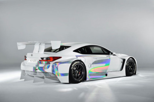 Toronto Auto Show Marks Canadian Debut For RC F GT3 Concept Car That Is Leading Lexus' Charge Into Global Racing (CNW Group/Toyota Canada Inc.)