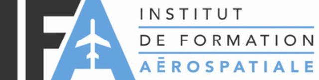 Logo de l'IFA. (Groupe CNW/Institut de formation aérospatiale (IFA))
