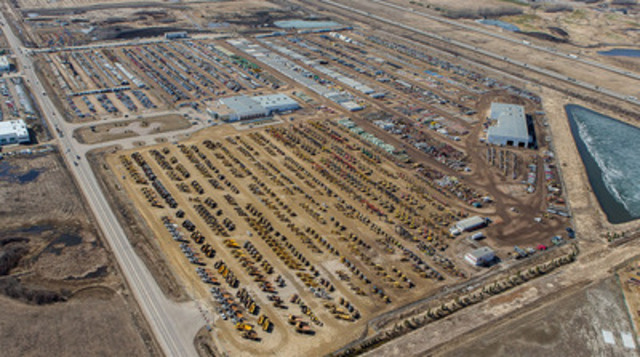 Ritchie Bros. sold more than CA$143 million at Canada's largest equipment auction held last week (April 23 - 25) in Edmonton, AB. The historic auction broke multiple Company records, including online sales, and number of registered bidders, buyers and sellers. (CNW Group/Ritchie Bros. Auctioneers)