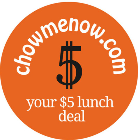 Chowmenow.com to find your $5 lunch deal (CNW Group/Chowmenow Online Ltd.)