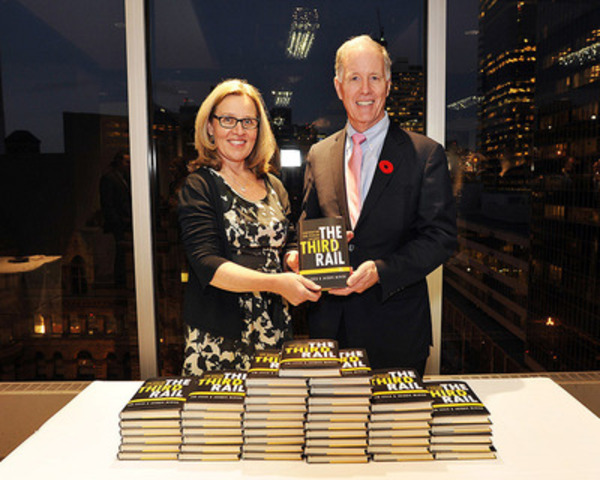 Jim Leech and Jacquie McNish, authors of The Third Rail - Confronting our pension failures. (CNW Group/Fleishman-Hillard Inc. - Toronto)