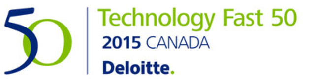 Thinking Capital ranked as one of Canada's fastest growing technology companies in the 18th annual Deloitte Technology Fast 50™ awards. (CNW Group/Thinking Capital)