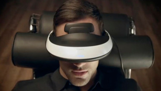 Video: Introducing Sony's 3D Compatible Head Mounted Display Equipped with High Definition OLED Panel