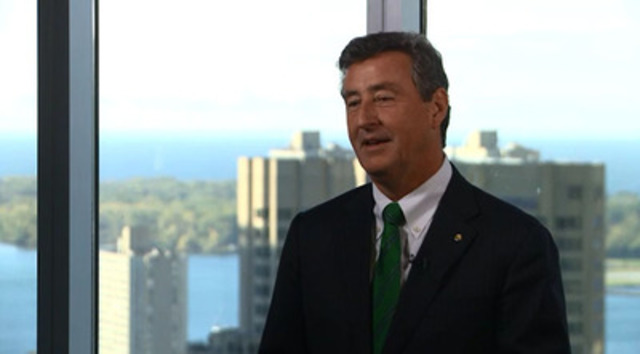 Kevin Dougherty, President of Sun Life Financial Canada, discusses the 2015 Sun Life Financial Canadian Health Index, and the findings that indicate that an overwhelming majority of Canadians (more than four in five) believe that employers are responsible for supporting their employees' physical and psychological health.