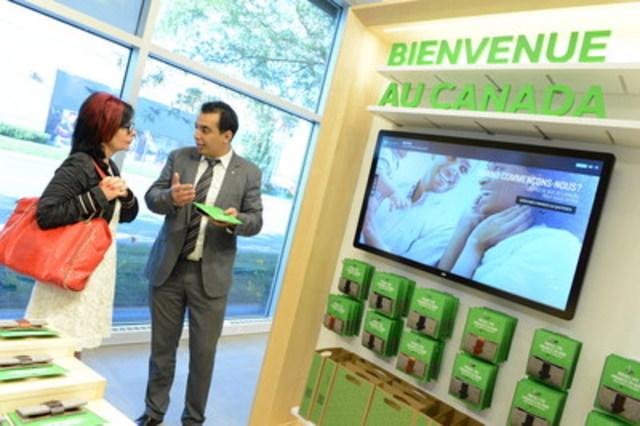Desjardins au Marché Central : un nouveau centre de services des plus innovateurs ouvre ses portes. (Groupe CNW/Mouvement Desjardins)