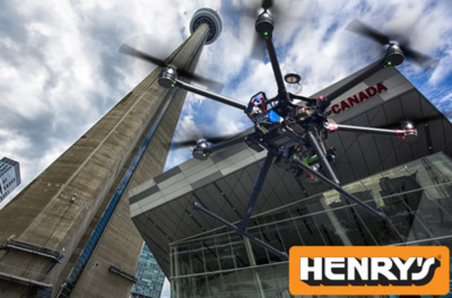 "Henry's is Canada's Droneography Headquarters, representing the best camera-platform drones in the industry. Serving filmmakers, commercial video production, real estate, oil and gas, law enforcement, and many other segments of the video industry, Henry's aerial experts are available for consultation.""   (CNW Group/Henry's)"