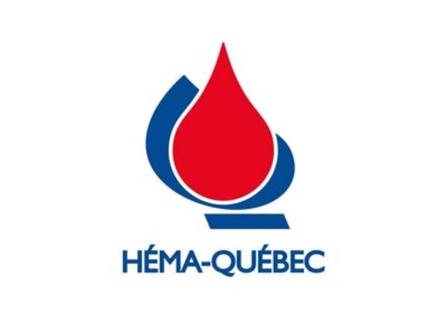 Logo : Héma-Québec (Groupe CNW/Héma-Québec)