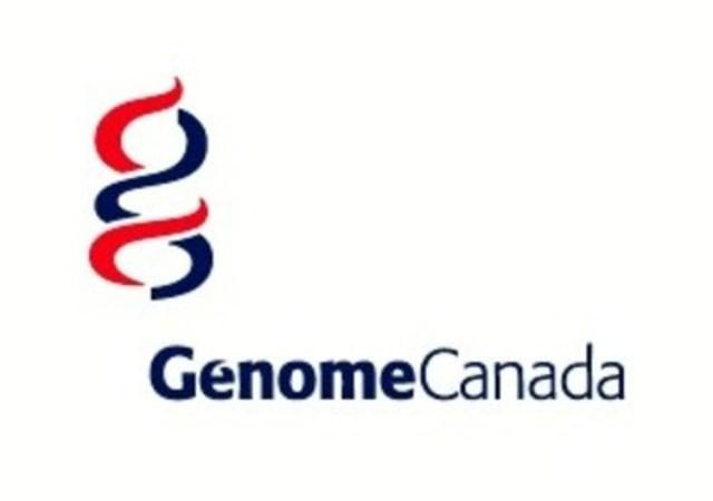 Logo Génome Canada (Groupe CNW/Génome Canada)