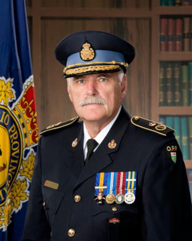 Le sous-commissaire de la Police provinciale de l'Ontario, Larry Beechey, prend sa retraite après une prestigieuse carrière de 33 ans au sein du service de police. (Groupe CNW/Police provinciale de l'Ontario)