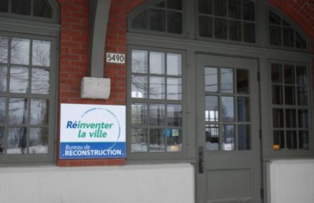 Le bureau de reconstruction est situé dans la Gare patrimoniale de la ville de Lac-Mégantic. (Groupe CNW/Bureau de reconstruction du centre-ville de Lac-Mégantic)