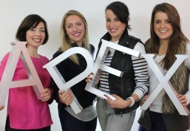 From left: Anne Locke, Tara Benjamin, Elyn Kirby Arscott, Jessica Spremo (CNW Group/Apex Public Relations)