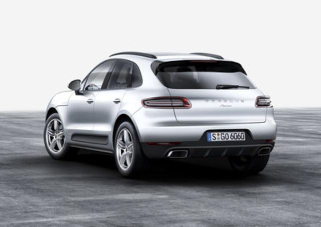 Porsche révèle de nouveaux détails, ainsi qu'un nouveau moteur disponible, pour le Macan 2017 le 9 mars 2016. (Groupe CNW/Automobiles Porsche Canada)