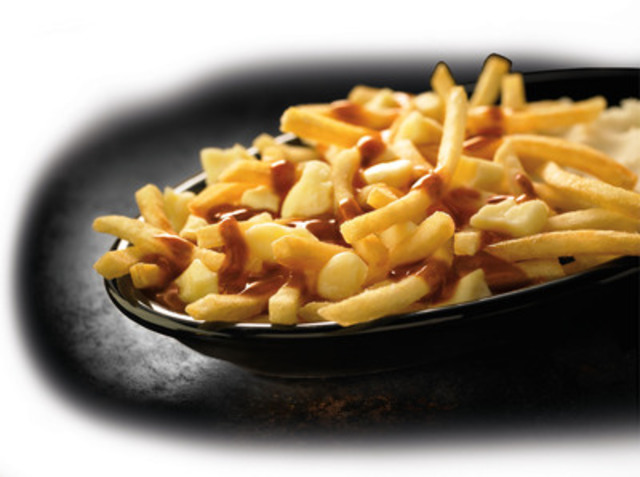 McDonald's® Poutine is made with the company's World Famous Fries™ topped with real Quebec cheese curds and gravy (CNW Group/McDonald's Canada)