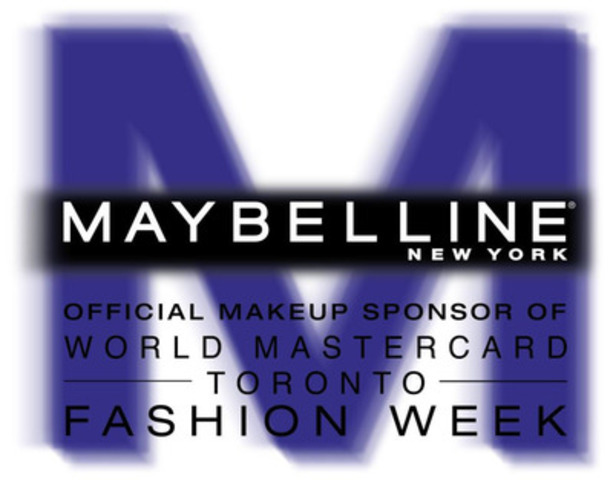 Maybelline New York's logo for World MasterCard Fashion Week (CNW Group/Maybelline New York)